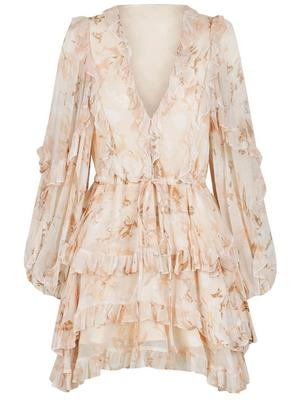 Nina Frill Mini Dress
