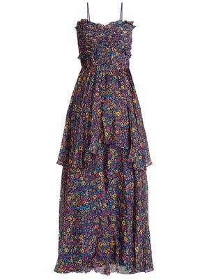 Kiko Tiered Floral Maxi Dress