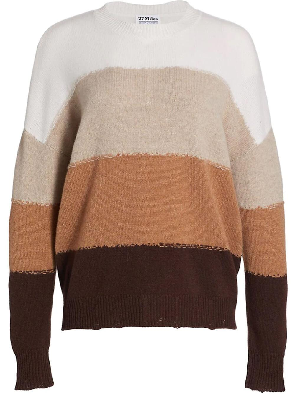 Alondra Block Stripe Pullover Item # ALONDRA