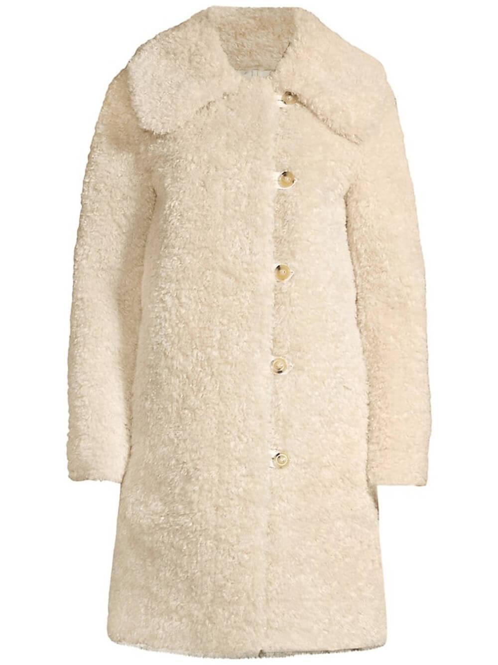 Faux Shearling Coat Item # 721447C118