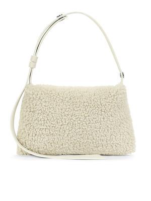 Mini Puffin Vegan Shearling Bag