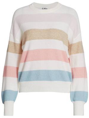 Dominique Striped Sweater