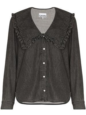Core Light Denim Collar Shirt