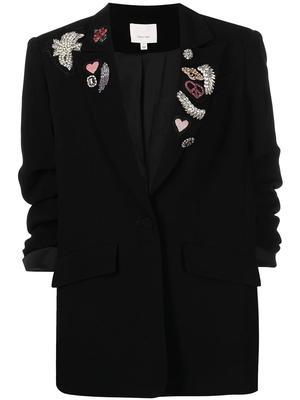 Amour Kelsa Embellished Blazer