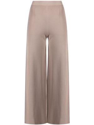 Lily Cropped Knit Straight Leg Pant
