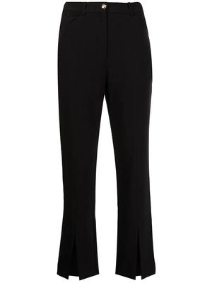 Ivy Recycled Twill Front Slit Pants