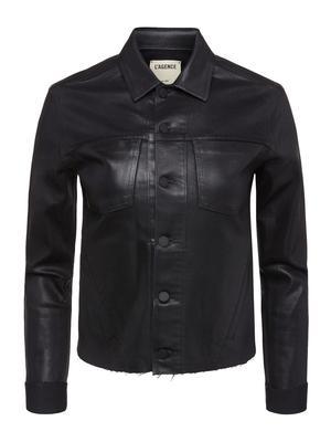 Janelle Slim Coated Jacket