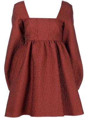 Lucia Micro Matelasse Mini Dress