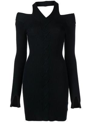 Alejandra Twisted Cable Knit Dress