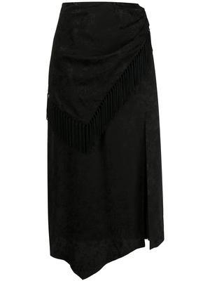 Candice Fluid Jacquard Skirt