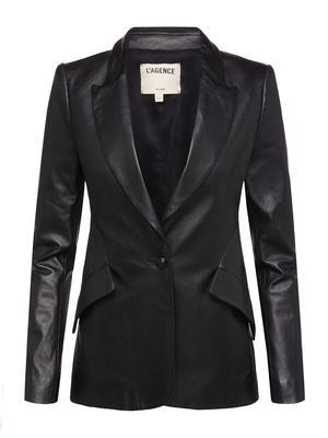 Chamberlain Leather Blazer