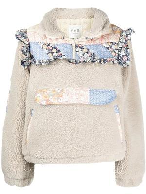 Sydney Panelled Quarter Zip Pullover