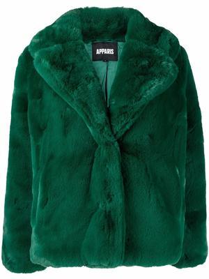 Milly Pluche Faux Fur Jacket