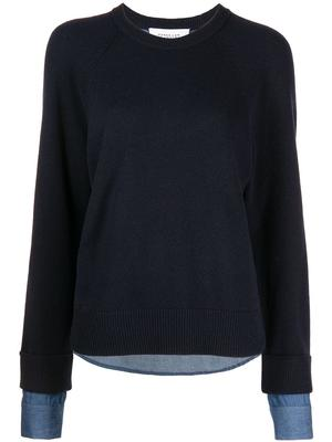 Louisa Mixed Media Sweater
