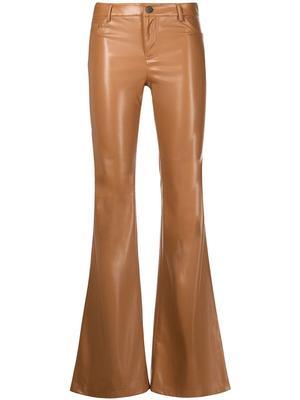 Marshall Vegan Leather Flared Pant