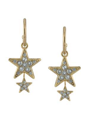 Elara Hoop Earrings with Stars