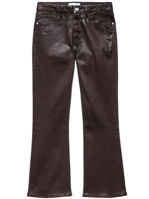 Le Crop Mini Boot Coated Jean