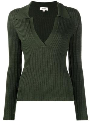 Evie Collared Knit Top