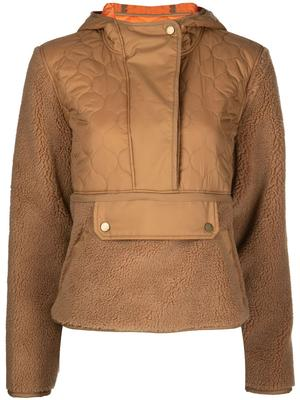 Leo Sherpa Quilted Pullover
