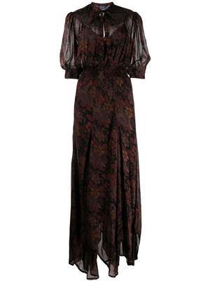 Astr Floral Maxi Dress