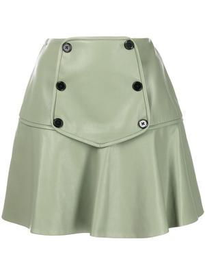 Kita Vegan Leather Skirt
