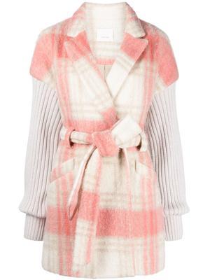 Aretha Plaid Coat
