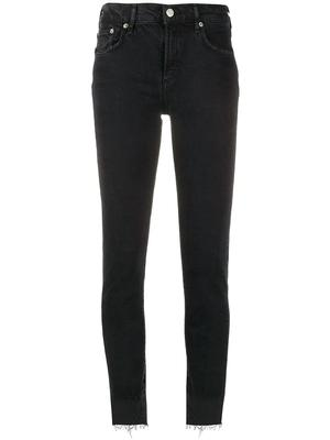 Toni Mid-Rise Straight Leg Jean