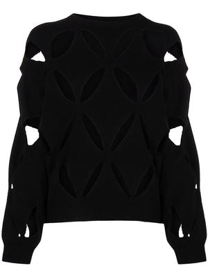 Cut Out Knit Sweater