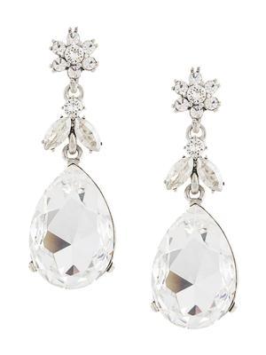 Classic Bold Crystal Drop Earrings