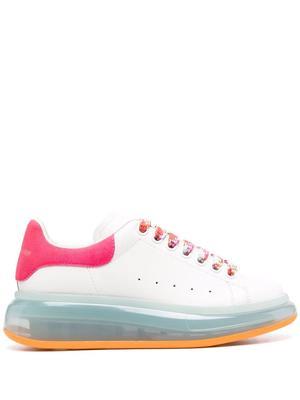 Oversized Contrast Sole Sneakers
