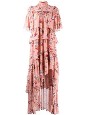 Jamie Printed Midi Dress