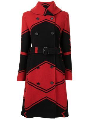 Carlyn Jacquard Coat
