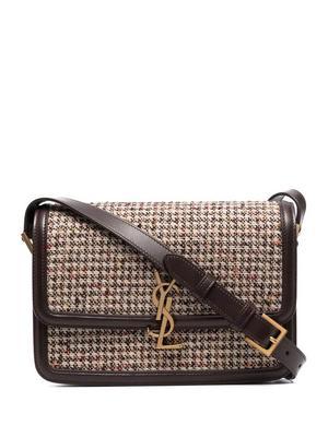 Solferino Tweed Shoulder Bag