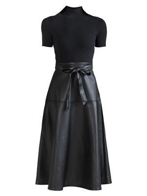 Farrah Combo Midi Dress
