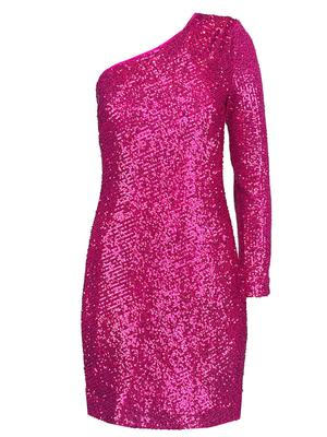 Over the Moon Sequin Dress