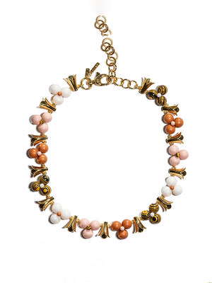 Cactus Flower Collar Necklace