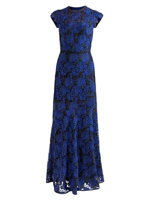 Raven Lace Gown