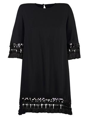 Shimmy Tassel Dress
