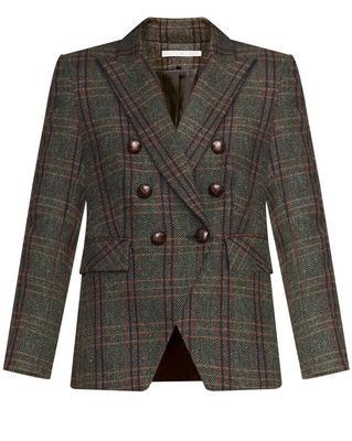 Miller Herringbone Plaid Dickey Jacket