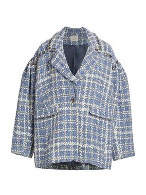 Mackenzie Plaid Single Button Coat