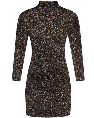 Gretna Printed Mini Dress