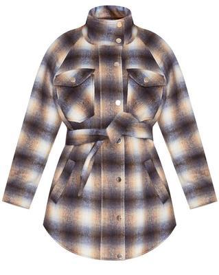 Amari Plaid Jacket
