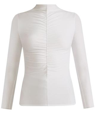 Theresa Ruched Turtleneck