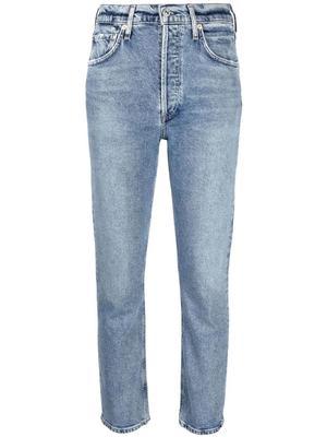 Jolene High Rise Straight Leg Jean
