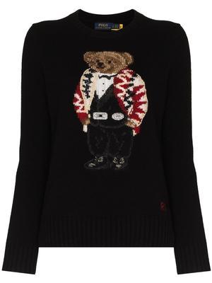 Holiday Polo Bear Sweater