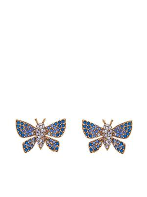 Pave Butterfly Earring