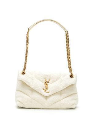 Lou Lou Bouclé Shoulder Bag