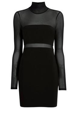 Andie Mesh Panel Dress