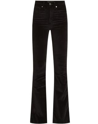 Beverly Skinny Flare Velvet Pant