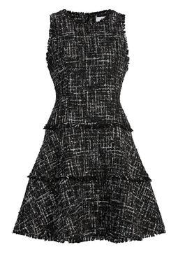 Multi Tweed Jewel Dress